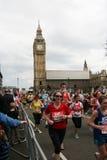 london maraton 2010 Arkivbild