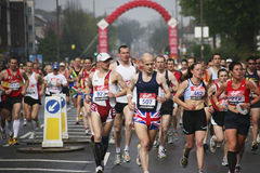 london maraton 2010 Royaltyfri Foto