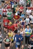 London maraton flory Zdjęcia Royalty Free