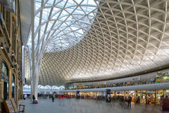 Kings cross station Royalty Free Stock Photo