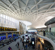 Kings cross station Royalty Free Stock Image