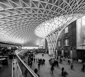 Kings cross station Stock Photos
