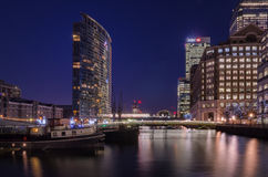 London Marriott Hotel West India Quay. In Canary Wharf , London Royalty Free Stock Images
