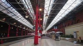 London Marylebone station, London UK Arkivfoton