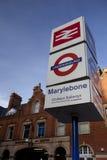 London Marylebone Train Station Stock Photo