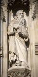 London - Maximilian Kolbe statue Stock Photos