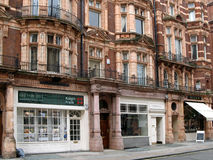 London, Mayfair District Shops Royalty Free Stock Photo