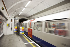 london metro Royaltyfri Bild