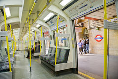 london metro Zdjęcia Stock