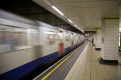 london metro Fotografia Royalty Free