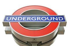 london metro Obraz Stock