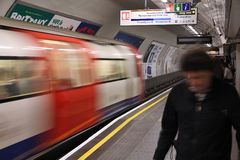London metro Royalty Free Stock Image