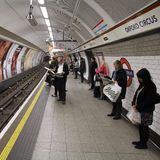 London Metro Stock Images
