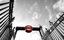 London Metro Station Royalty Free Stock Photos