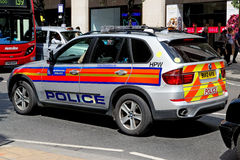 London Metropolitan Police BMW car Stock Image