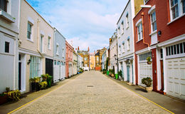 London Mews Lizenzfreie Stockbilder