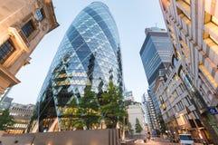 London miasta stary nowoczesnej architektury Zdjęcia Royalty Free