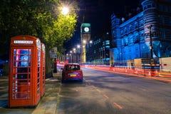 London miasta w nocy obrazy royalty free