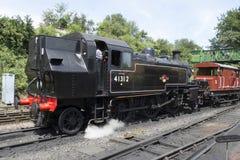 London Midland and Scottish Class 2MT 2-6-2 Tank Locomotive No 4 stock photography