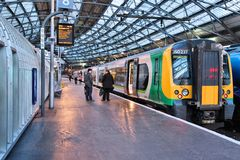 London Midland train Stock Images