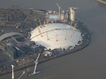 London, Millenium dome royalty free stock photos