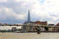 London Millennium Bridge Stock Image
