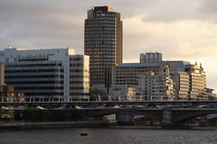 London millennium bridge Stock Photography