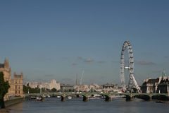 London / Millennium Wheel Stock Photography