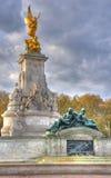 london minnes- drottning victoria royaltyfri fotografi