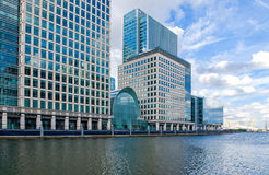 London. Moder architecture in Jubilee Place Royalty Free Stock Photo