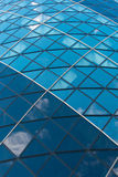 LONDON, Modern English architecture, Gherkin building glass texture. City of London Royalty Free Stock Photo