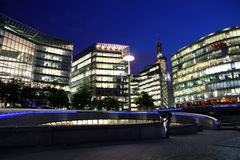 London with modern offices, England Royalty Free Stock Images