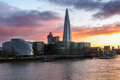 London modern skyline Stock Image