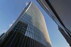 london modern skyskrapa royaltyfri bild