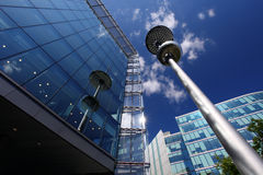 london modern skyskrapa Arkivfoto