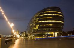 London - modern town-hall Stock Photography