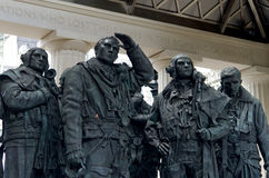 London monument to bomber pilots Stock Photography