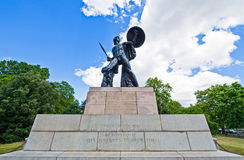 London. A monument to the Duke Of Wellington in Hide Park corner Royalty Free Stock Photos