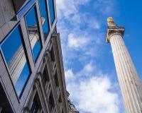 London Monument Stock Image