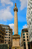 London Monument to the Great Fire column Royalty Free Stock Photography