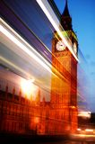 London in motion Royalty Free Stock Photography