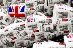 London mugs Royalty Free Stock Images