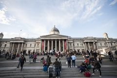 Museum national gallery in London 2017 Royalty Free Stock Photos