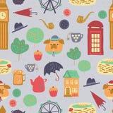 London-Muster Stockfotos
