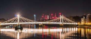 London-Nacht lizenzfreie stockbilder