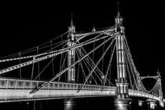 London-Nacht stockfotos