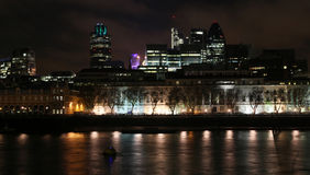 London nachts Lizenzfreie Stockfotografie