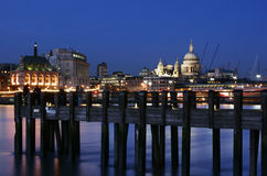London nachts Lizenzfreies Stockbild
