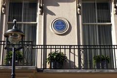 london napoleon platta Royaltyfri Foto