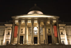 London - natinal galery in night Royalty Free Stock Image